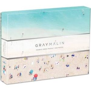 🌴 GRAY MALIN Hawaii Beach 2-Sided Jigsaw Puzzle
